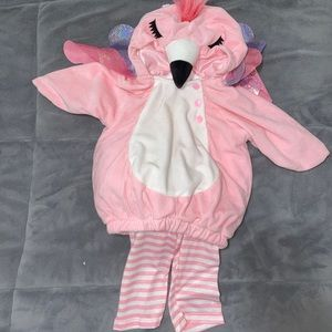 Baby Girl Flamingo Costume 🦩